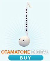 buy Otamatone digital white