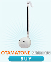 buy Otamatone skeleton transparent